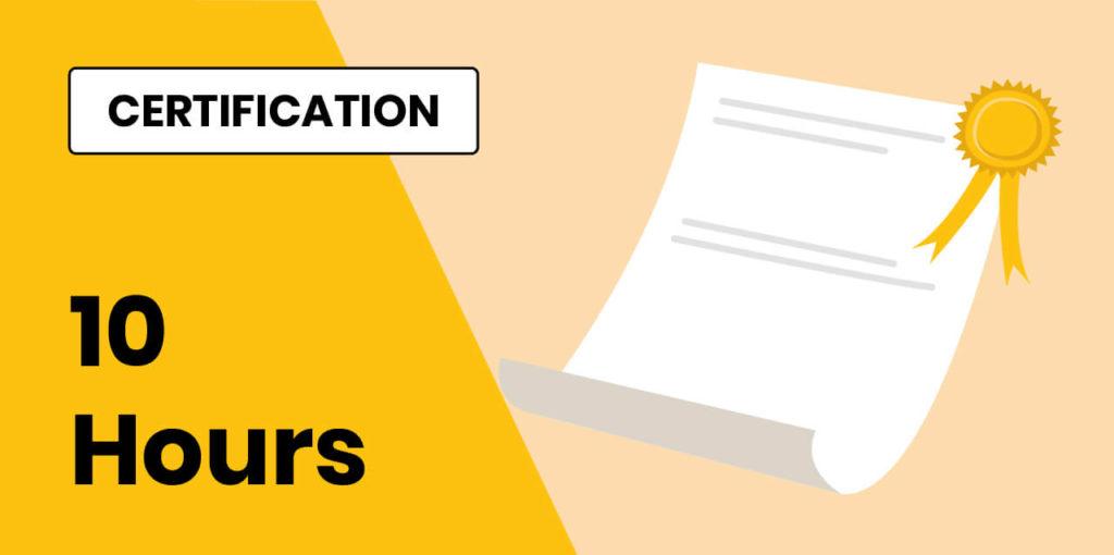 10 Hours Certification Course- Nursery Teacher